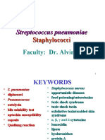 Streptococcus Pneumoniae Staphylococci Faculty
