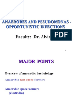Anaerobes and Pseudomonas Opportunistic Infections