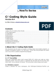 C# Coding Style Guide