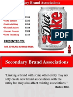 Secondary Association Factors of Diet Coke