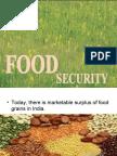 Food Security Ansu Mam