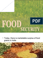 Food Security Ansu Mam