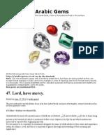 Arabic Gems