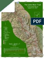 The John Muir Trail Map