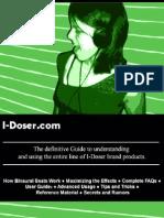 I Doser Guide