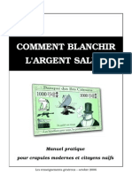 Comment blanchir l'argent sale ?