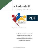1 Mesa Redonda - Metodología - Viene en cada manual