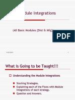 Module Integrations v 2.0