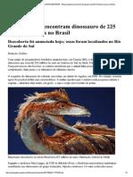 Revista Galileu - EDT MA...Lhões de Anos No Brasil