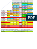 ZFINAL Time-Table for Trimester 4 2009 Ver 26 201009