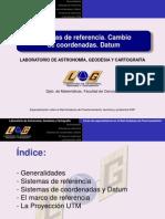 Sistemas de Referencia UTM
