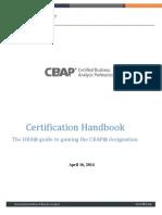 CBAP Handbook
