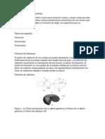 Características de Las Antenas