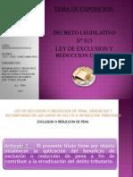 Ley de Exclusion Exposicion
