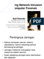 Net Intrusion and Forensic