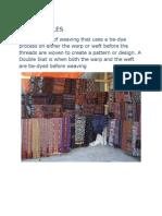 Ikat Textiles