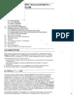 Public Administration Unit-9 Scientific Management-F.W. Taylor