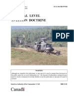 Tactical Level Aviation Doctrine