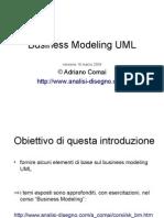 Business Modeling Uml