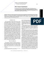 USP Column Classification