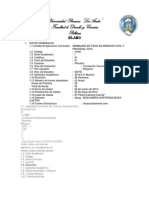 Sílabo Seminario de Tesis en Derecho Civil y DºProc.civ.