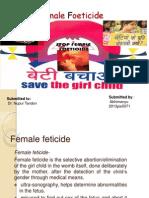 Female Feticide