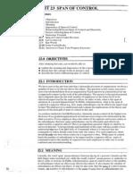 Public Administration Unit-23 Span of Control
