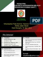 Komite Keperawatan Ppni 2012 Persi April Surabaya
