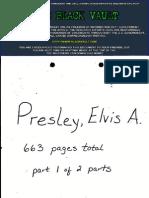 Elvis Presley's - F B I  File