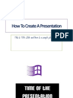 How to Create a Powerpoint Presentation 2010