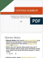 8 Konsep Operasi Nombor
