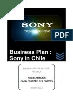 Sony plan