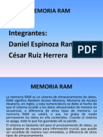 Memoria Ram Exposicion