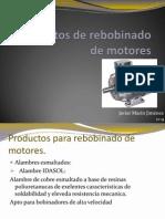 Productos de Rebobinado de Motores