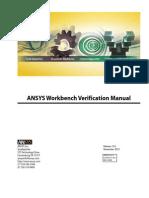 ANSYS Workbench Verification Manual