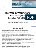 Waziristan Operation (Rah-e-Nejad) Week One