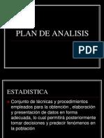 Plan de Analisis