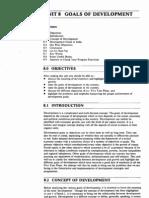 Public Administration Unit-77 Goals of Development