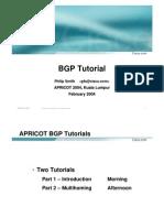 BGP Tutorial