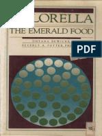 Chlorella the Emerald Food