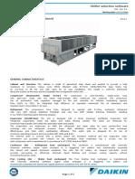 Chiller Daikin Ewadc12cfxs - 1118 Kw-free Cooling