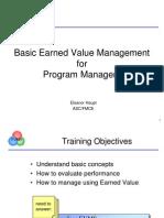 EVMS란+Basic+EVM+for+Program+Managers