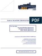 Valuation, Certification and Payment