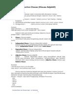 Kompilasi Materi Kompetensi Linguistik Kelas IX