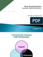 2. Taksonomi Tujuan Instruksional