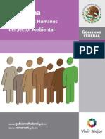 Programa de Derechos Humanos Del Sector Ambiental