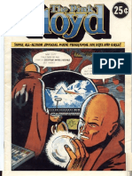 Pink Floyd 1975 Tour Comic Book