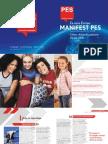 Manifest PES za Evropske volitve 2014