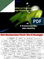 Organizational Resistance 120412005715 Phpapp01