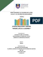 Final Report Utopia Discovery Centre IML 656